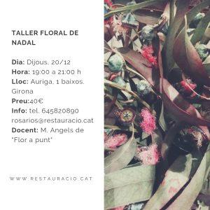 TALLER DE FLOR NATURAL @ Rosa Rios